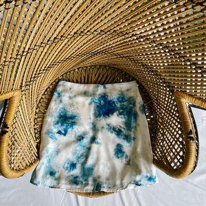 Tie Dye Plare Skirt